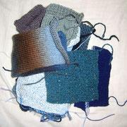 Die Decke liegt... obwohl alle Teile gespannt sind.