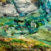 """Forca - oil on canvas - huile sur toile 70 x 100 cm (28 x 39"""") - 2016"""