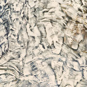 White #1 - alkyd on canvas - alkydes sur toile 76 x 51 cm - 2016 - Improvisation