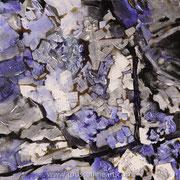 Matter #7 - acrylic inks on canvas - encres acryliques sur toile 30 x 30 cm - 2010 - Impression