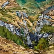 """Ehujarre - oil on canvas - huile sur toile 100 x 120 cm (39 x 47"""") - 2017 - impression"""