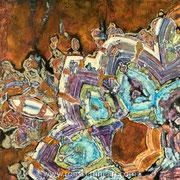"""M77 - oil on canvas - huile sur toile 100 x 120 cm  (39 x 47"""") - 2017 -  Impression"""