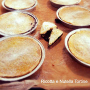Fingy's tortine ricotta e nutella