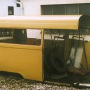 die Reste des Hanomag-Busses