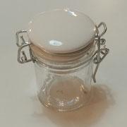 Barattolino tappo ceramica
