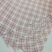 Pannolenci scozzese rosa