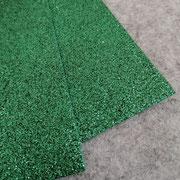 Gomma glitterata Verde