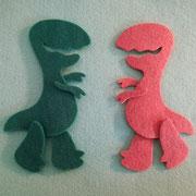 Fustellato dinosauro