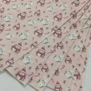 Pannolenci pinguini rosa cipria