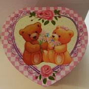 Portagioie orsetti a cuore