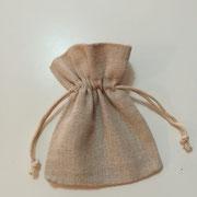 Sacchettino cotone grezzo