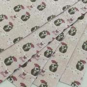 Gufi rosa cipria