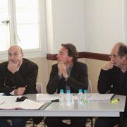 Pierre Poli (à gauche)