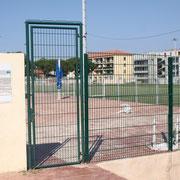 Le stade aux normes de sécurité