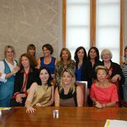 Les femmes chefs d'entreprises de Corse qui composeront la future association régionale