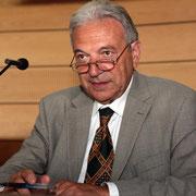 Francis Beretti, président de la Spciété des sciences