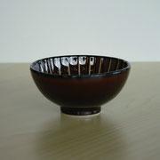 量るカロリー茶碗 漆ブラウン 150kcal