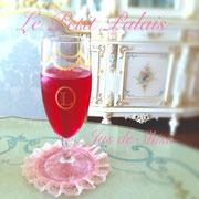 ラデュレ風アペリティフグラス