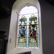 18th-century windows with 19th-century stained glass