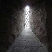 12th-century Norman lancet window