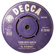 The Elf - Turn Into Earth DECCA F 12467 1966 B