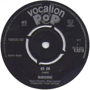 As He Once Was Mine/Go On Vocalion V 9218 1964 side B