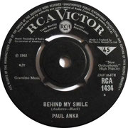 To Wait For Love (Is To Waste Your Life Away)/Behind My Smile RCA Victor RCA 1434 1965