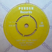 'I Tried'/'I Can't Quit You Baby' Purdah 45-3503 side B