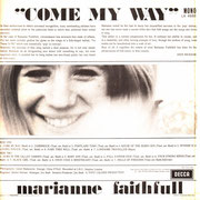 Come My Way Decca LK 4688 1965
