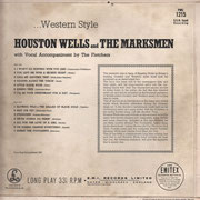 Western Style Parlophone PMC 1215 1964 back