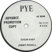 I've Been Watching You/Sugar Baby Pye 7N 15735 1966 side B
