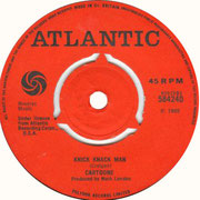 Knick Knack Man/A Penny For The Sun Atlantic 584240 1969