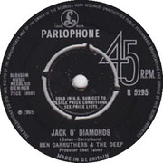 Jack O'Diamonds/Right Behind You Parlophone R 5295 1965