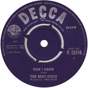 Skinny Minnie/Now I Know Decca F 12016 1964