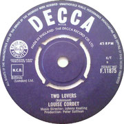 Don't Make Me Over/Two Lovers - Decca F 11875 1964 side B