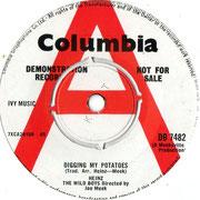 Diggin' My Potatoes/She Ain't Comin' Back Columbia DB 7482 1965