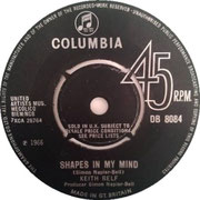 keith-relf-shapes-in-my-mind-columbia DB 8084 1966 side A