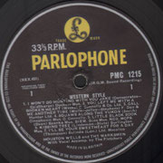Western Style Parlophone PMC 1215 1964 side 1