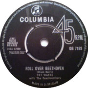 pat-wayne-with-the-beachcombers-roll-over-beethoven-columbia DB 7182 1963