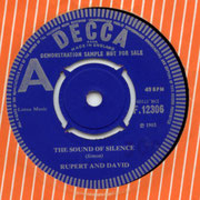 The Sound Of Silence Decca F 12306 1965