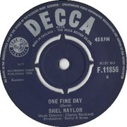 'One Fine Day'/'It's Gonna Happen Soon' Decca F 11856 1964 side B