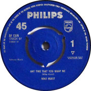 Carol Anne/Anytime That You Want Me Philips BF 1319 1964 side 1
