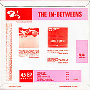 The In Betweens Barclay BLF 70907 1966 back
