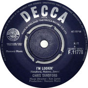 'Not Too Little - Not Too Much'/'I'm Lookin Decca F 11778 1963 Side B