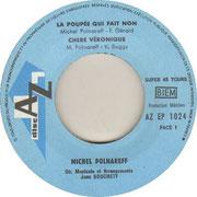 michel-polnareff-la-poupee-qui-fait-non-disc-az EP 1024 1966 side 1