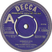 'Google Eye'/'T.N.T.' Decca F 11200 1964 side A