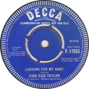 king-size-taylor-looking-for-my-baby-decca F 11935 1964