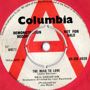 The Road To Love/Big Beat Drum Columbia DB 4938 1962