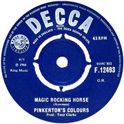 Magic Rocking Horse / It Ain't Right  Decca F 12493 1966 side A