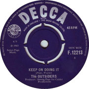 'Keep on Doing It'/'Song We Sang Last Summer' Decca F 12213 side A 1965